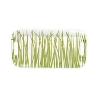 Boston International Melamine Tray - SeaGrass