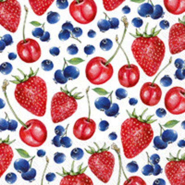 Boston International Cocktail Napkin - Little Lovely Berries