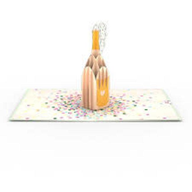 LovePOP Love Pop Greeting Card- Champagne Pop Wedding/ Celebration/ Anniversary