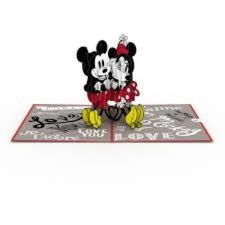 LovePOP Love Pop Greeting Card- Disney Mickey and Minnie Love/ Anniversary
