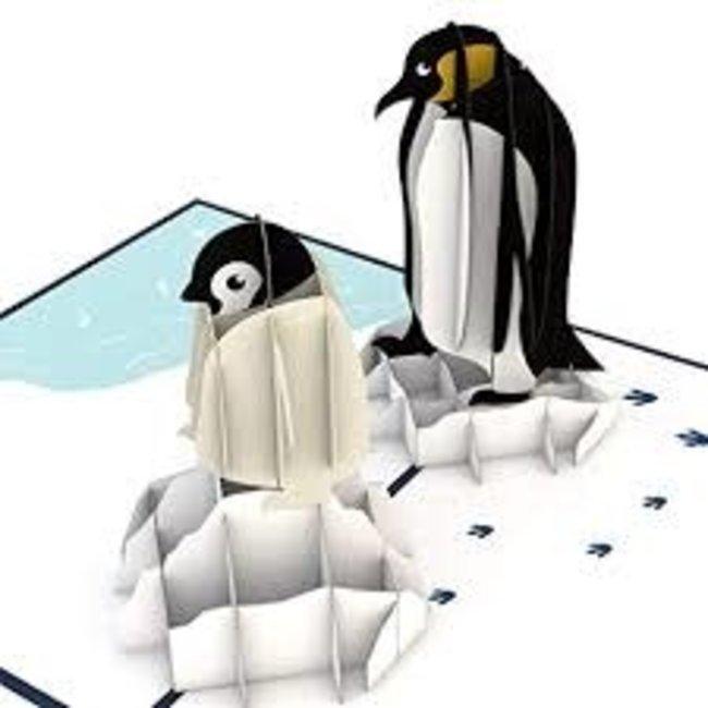 LovePOP Love Pop Greeting Card - Penguins
