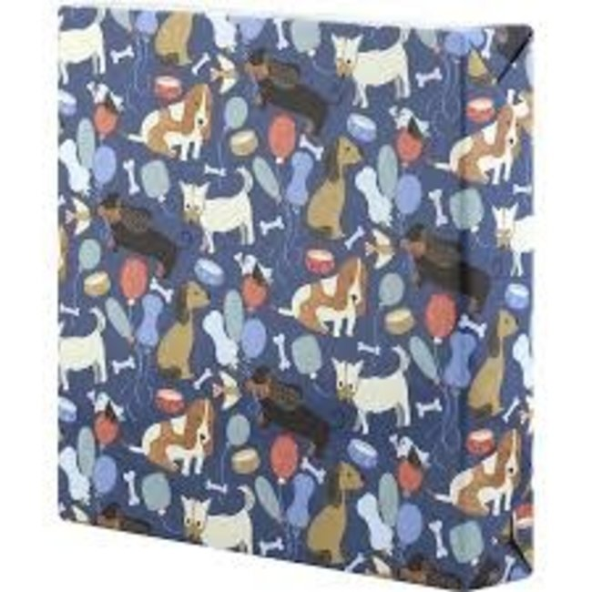 Wrapping Paper 5ft Roll- Puppy Party