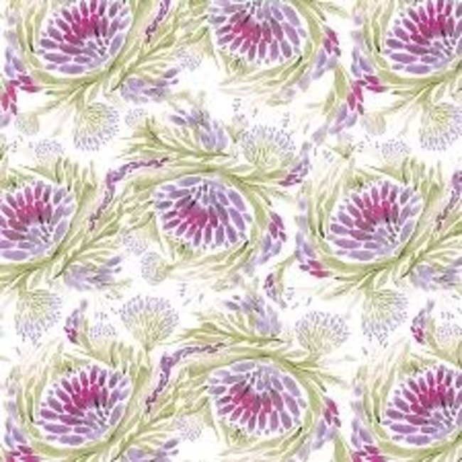 Wrapping Paper 5ft Roll- LOTUS DANCE