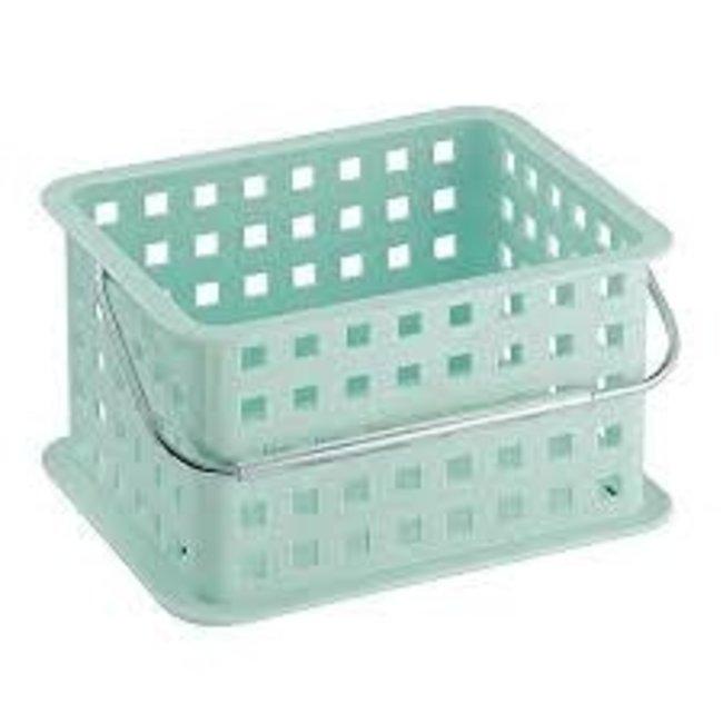 InterDesign Small Spa Basket - Mint