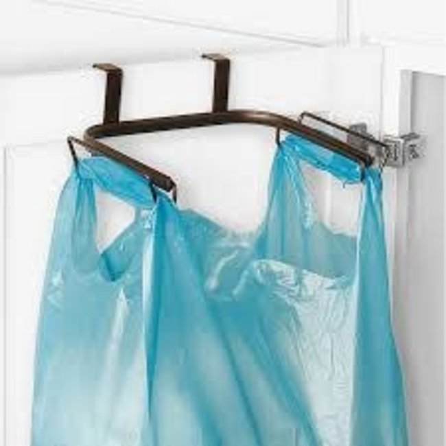 Spectrum Spectrum - Ashley Over the Cabinet Trash Bag Holder
