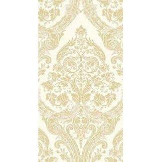Boston International Hostess Napkin - Grandeur Cream Gold