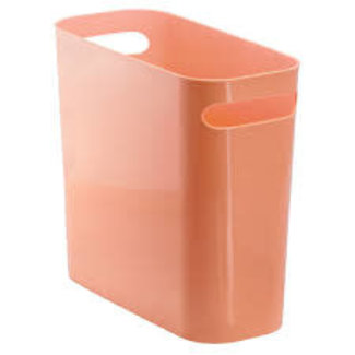 "InterDesign Una Trash Can 10"" - Coral"
