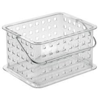 InterDesign Small Spa Basket - Clear