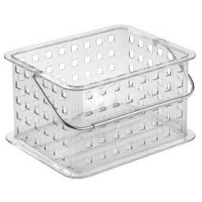 InterDesign Small Spa Basket - Clear