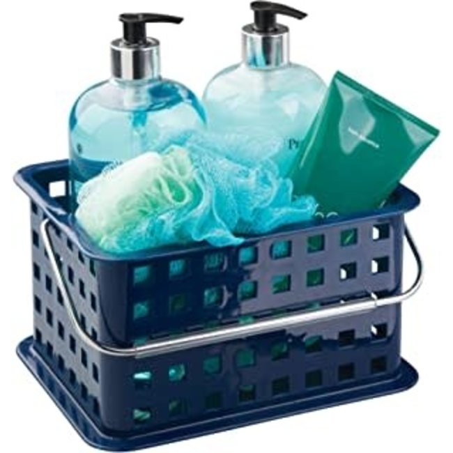 InterDesign Small Spa Basket - Navy
