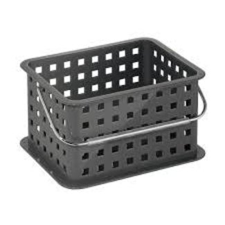 InterDesign Small Spa Basket - Slate