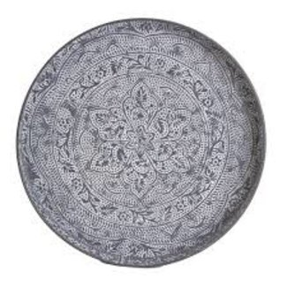 TAG- Masala Etched Washed Tray- Gray
