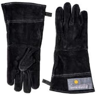 Fox Run Fox Run Leather Grill Gloves - Black
