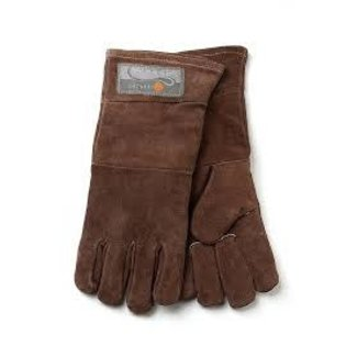 Fox Run Fox Run Leather Bbq Gloves- Brown