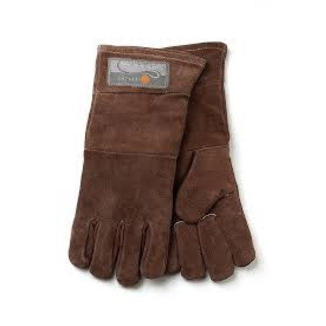 Fox Run Fox Run Leather Bbq Gloves- Brown