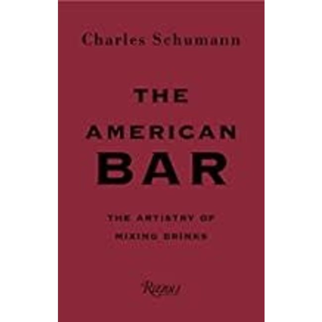 Cookbook- The American Bar- Charles Schumann