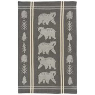 Now Designs Now Designs Jacquard Dishtowel - Wild & Free (Bear)