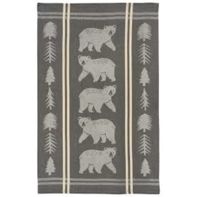 Now Designs Now Designs Jacquard Dishtowel - Wild & Free (Bear)