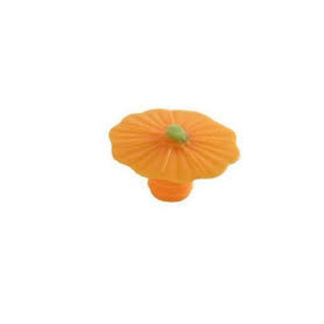 Charles Vancin Charles Viancin  Autumn Bottle Stoppers - Pumpkin