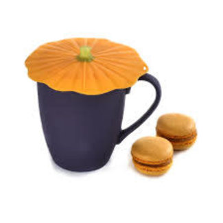 """Charles Vancin Charles Viancin - 4"""" Drink Cover - Pumpkin"""