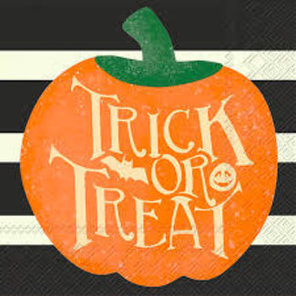 Boston International - Trick or Treat Pumpkin Napkins