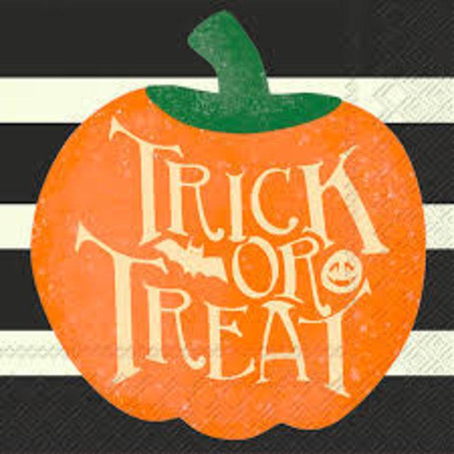 Boston International - Trick or Treat Pumpkin Napkins