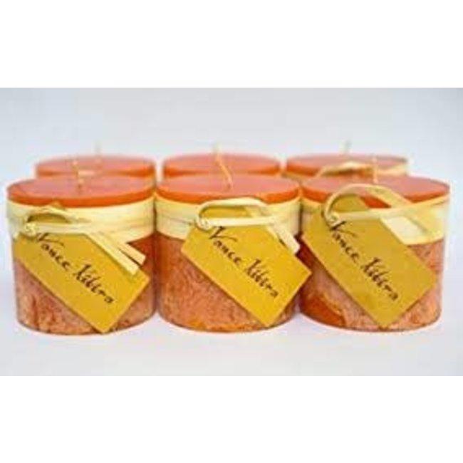 Vance Kitira 3x3 Pillar Candle- Pumpkin