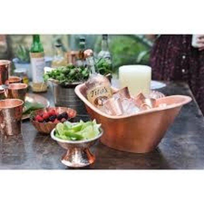 Sertodo Copper Sertodo Copper - Cradle Oval Ice Bucket