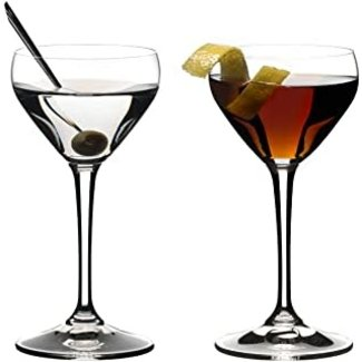 Riedel Riedel Small Martini Set of 2-  Nick and Nora