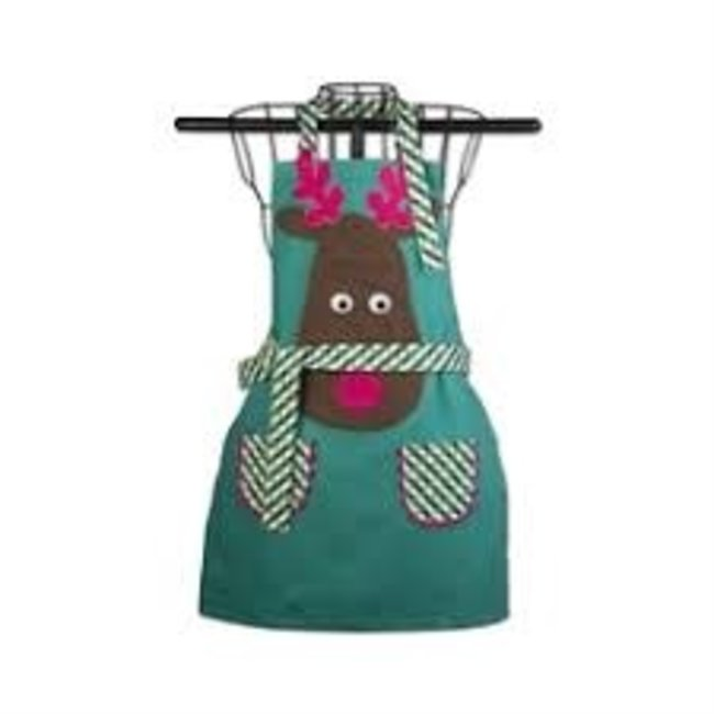 TAG Kids Apron- Joyful Reindeer