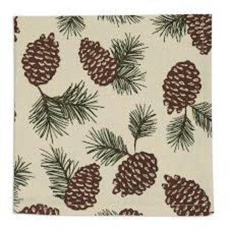 DII Fabric Napkin- Pinecone