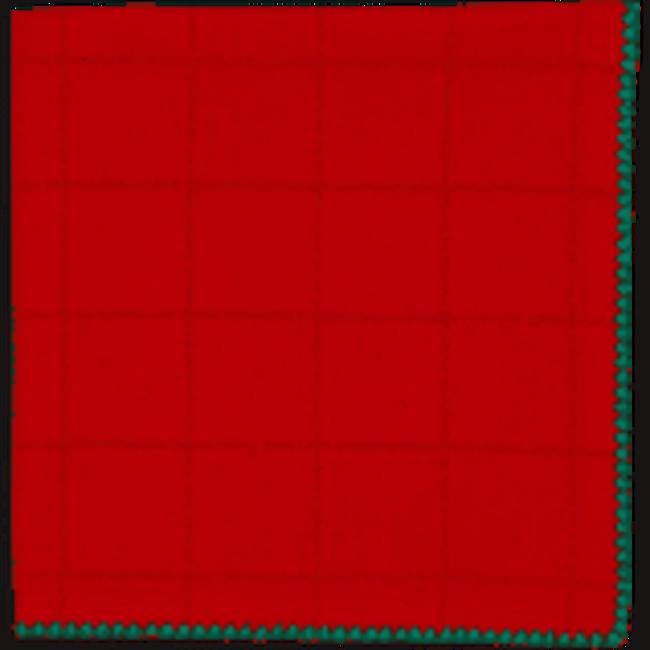 DII Fabric Napkin- Joyful Dobby Red