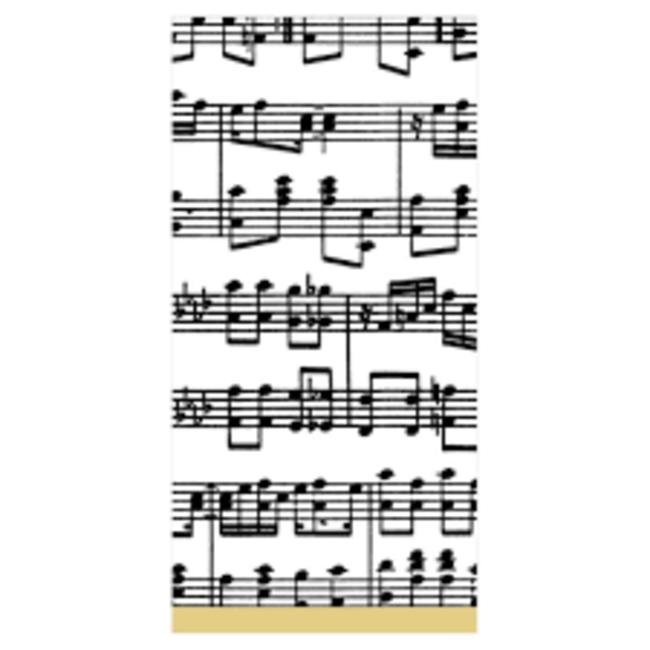 Caspari Caspari Hostess Napkin - Musica