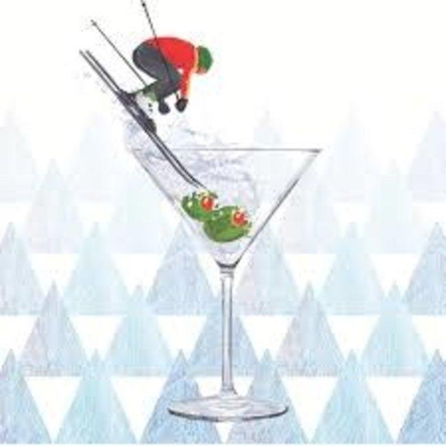 PPD PPD Cocktail Napkin - Apres Ski Martini