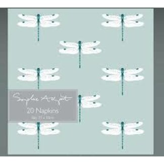 Sophie Allport Sophie Allport Luncheon Napkins - Dragonfly