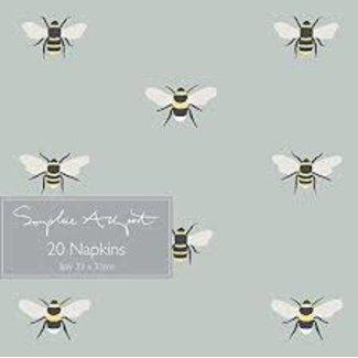 Sophie Allport Sophie Allport Luncheon Napkins - Bee