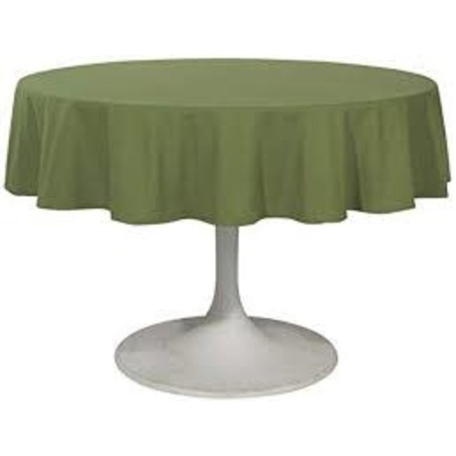"""Now Designs Now Designs Tablecloth 60"""" Round Renew Solid- Fir"""