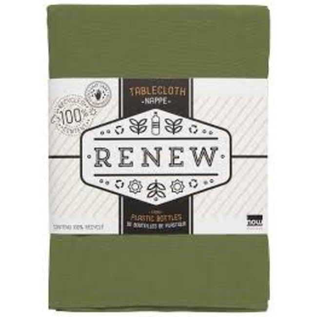 Now Designs Now Designs Tablecloth 60x120 - Renew Solid Fir