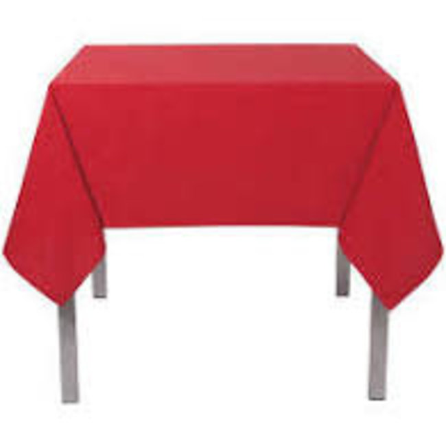 Now Designs Now Designs Tablecloth 60 x 90 Hemstitch- Chili