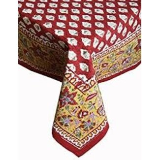 Petal Pushing Tablecloth 70x110 - Red Ace