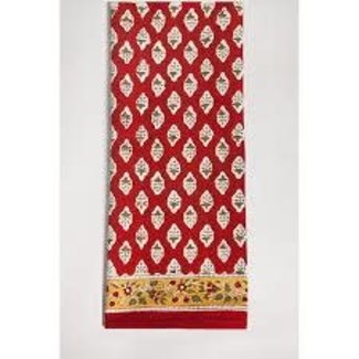 "Petal Pushing Napkin 21"" - Red Ace"