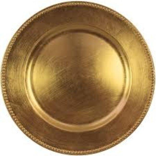 Harman Harman Charger - Gold Bead