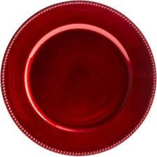Harman Harman  Charger - Red Bead
