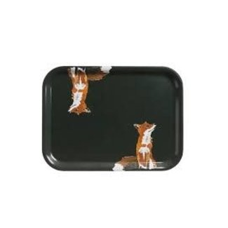 Sophie Allport Sophie Allport Printed Tray - Small- Foxes