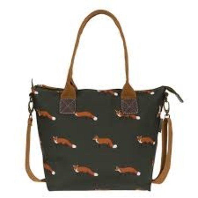 Sophie Allport Sophie Allport Oilcloth Oundle Bag - Foxes