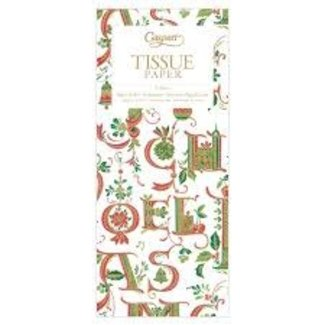 Caspari Caspari Tissue Paper- Illuminated Christmas