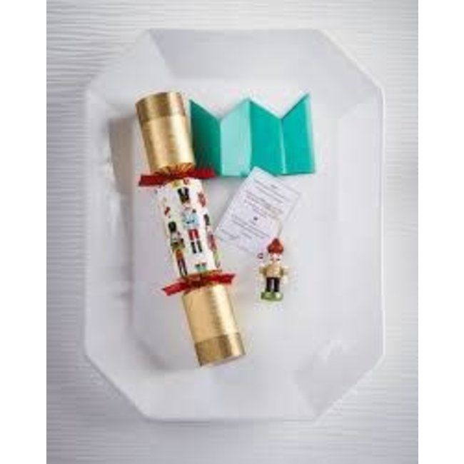 Robin Reed Robin Reed Christmas Crackers - Nutcracker Ornament (classic colors)