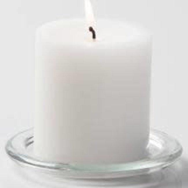 Vance Kitira 3.25x3 Pillar Candle-  White (original)