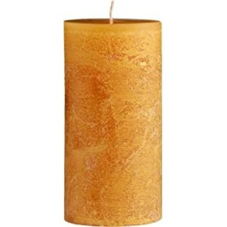 "Vance Kitira 4x4.5"" Pillar Candle- Holiday Gold NEW!"