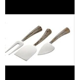 Design Ideas Design Ideas Texture Cheese Knives- Hilgram